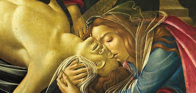 Lamentation of Christ by Botticelli